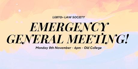Emergency General Meeting tickets