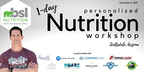 1-day personalized Nutrition Workshop tickets