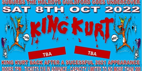 King Kurt + special guests do Guildford Surrey MK II  (Oct 2022) tickets