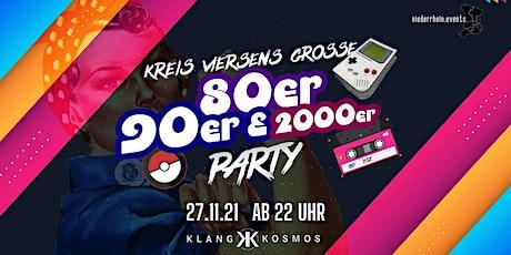 "Kreis Viersens große 80er/90er/2000er Party ""18+"" tickets"