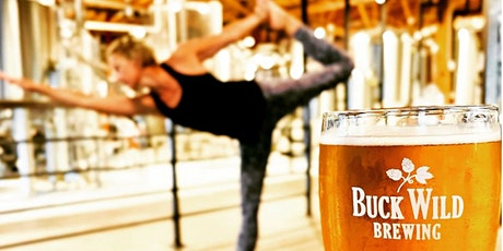 Poses & Pints at Buck Wild Brewing tickets