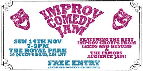 The Leeds Improv Comedy Jam (November) tickets
