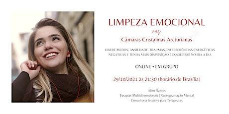 Limpeza Emocional nas Câmaras Arcturianas bilhetes