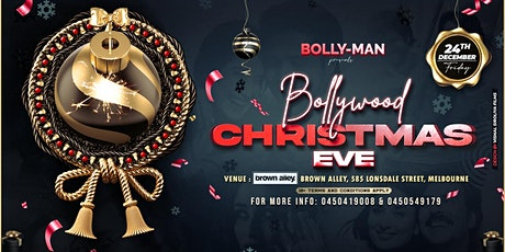 BOLLYMAN'S BOLLYWOOD CHRISTMAS EVE 2021 tickets