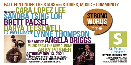 Strong Words - November 13th  Show tickets