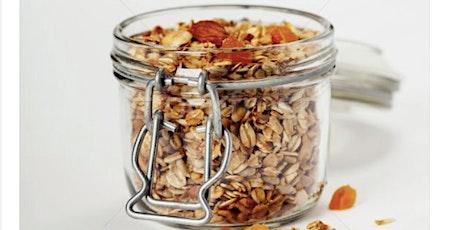 Caedmon School Online Cooking Montessori Style (Ages 1-9): Homemade Granola tickets