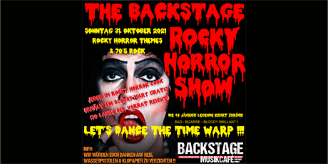 THE BACKSTAGE ROCKY HORROR SHOW Tickets