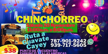 """Thanksgiving """"Chinchorreo"""" to Guavate-Cayey tickets"""