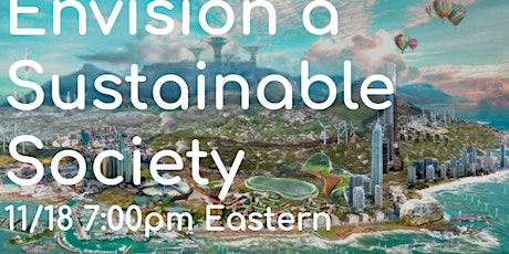 Envision a sustainable society: A chat with author of Bright Green Future tickets