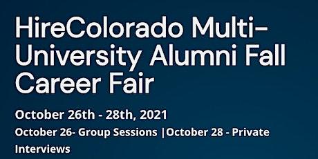 HireColorado Multi-University  Virtual Career Fair tickets