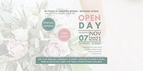 Wedding Open Day - New Venue - Blithfield Lakeside Barns - Staffordshire tickets