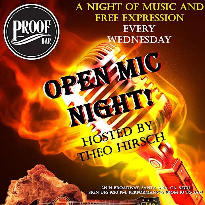Open mic night image