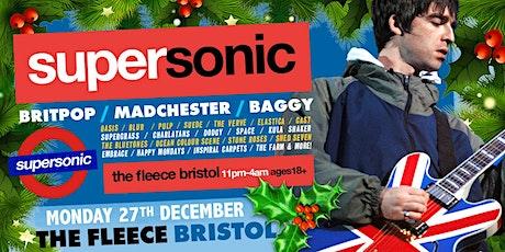 Supersonic Britpop Club Night Xmas Special tickets
