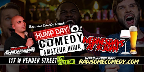 Hump Day Amateur Hour   Live Stand up Comedy tickets