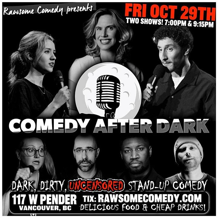 Comedy After Dark   Live Stand-up Comedy! image