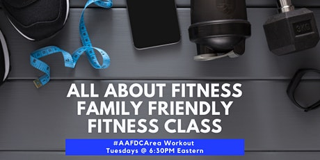 FREE All About Fitness DC Area Family Friendly Fitness tickets