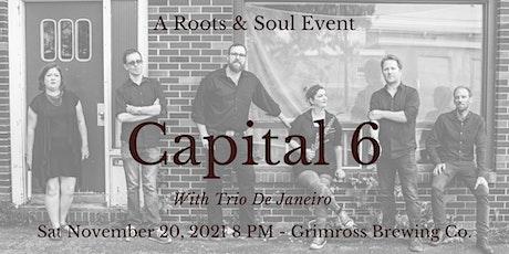 Capital 6/Trio De Janeiro at Grimross Nov 20, 2021 tickets