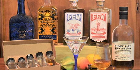 From GIN to BOURBON online tasting. An incredible sensory experience! tickets
