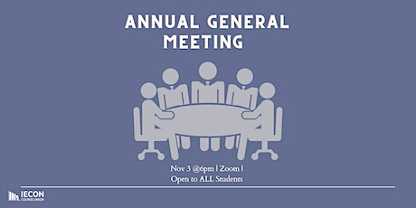 IECON Annual General Meeting tickets