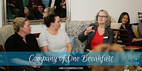 Company of One Breakfast tickets