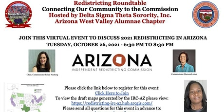 Redistricting Roundtable Discussion tickets