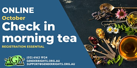 Morning Tea Check In with AGA tickets