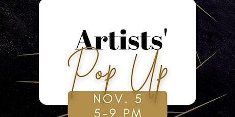 Artist Pop Up Shop! tickets