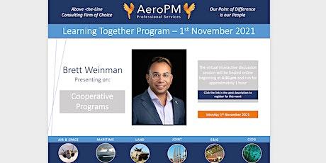 AeroPM November Learning Together Program tickets