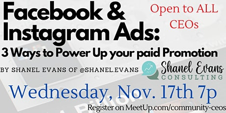 Facebook & Instagram Ads: 3 Ways to Power Up your paid Promotion tickets