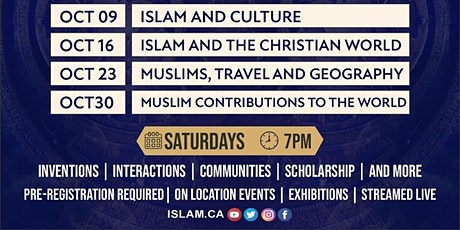 Islamic History Month - Oct. 30 tickets