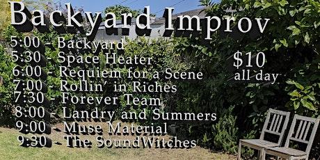 Backyard Improv tickets