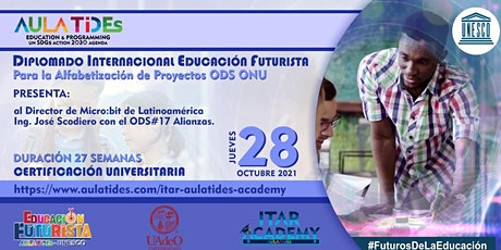 EVENTO ODS17 AULA TIDEs -UNESCO  DIPLOMADO  FUTURO DE LA EDUCACIÓN  ODS ONU entradas