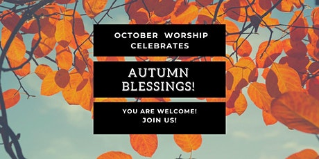 October 31, 2021 Worship tickets