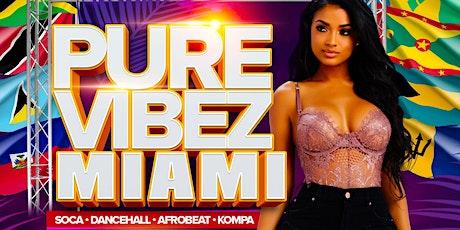 Pure Vibez Miami tickets