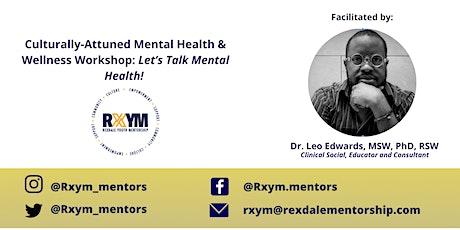 Culturally-Attuned Mental Health & Wellness Workshop tickets