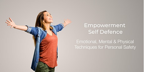 Empowerment and Self Defence Workshop (16yrs +) tickets