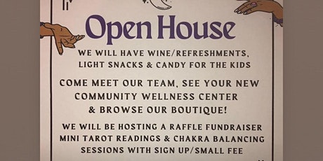 Whimsical Wellness Boutique Halloween themed open house/raffle event! tickets