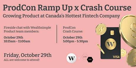 Ramp Up Fireside Chat: Growing Product at Canada's Hottest Fintech Company tickets