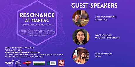 Resonance Sessions - Music Industry Guest Speakers tickets
