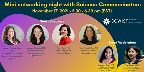 Mini networking night with Science Communicators tickets