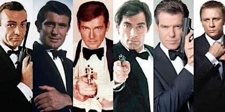 Handmade Trivia - James Bond tickets