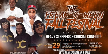 Chicago Fall Festival Starring Heavy Steppers & Crucial Conflict!! tickets