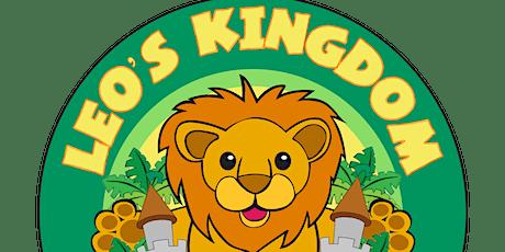 Leo's Kingdom - Public Entry Sat 9.30am-12.30pm tickets