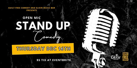 Open Mic Stand Up Comedy Night - Guilt Free Comedy tickets