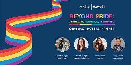 Beyond Pride: Allyship And Authenticity In Marketing tickets