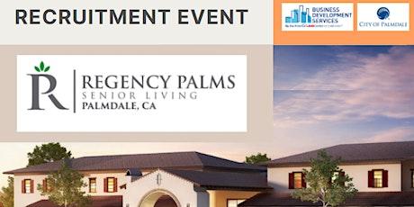 Regency Palms Recruitment Event tickets