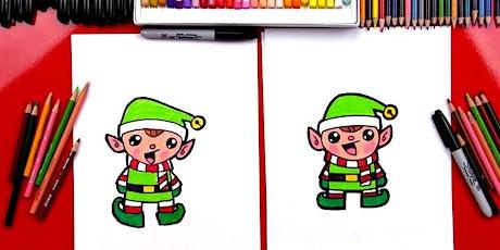 Christmas Cartooning - Online (school years 3-6) tickets