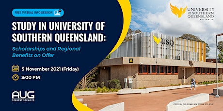 Study in Australia with the University of Southern Queensland! tickets