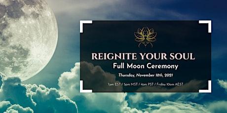 Virtual Full Moon Ceremony tickets