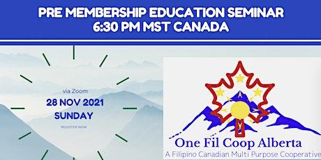 PRE-Membership Education SEMINAR (PMES ) tickets